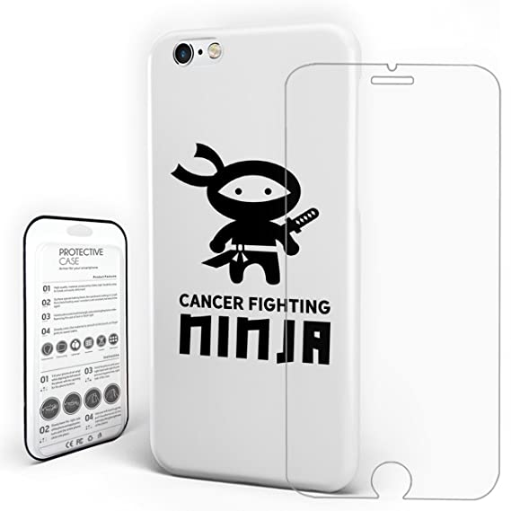 Amazon.com: White Cell Phone Cases PC Hard Back Slim ...