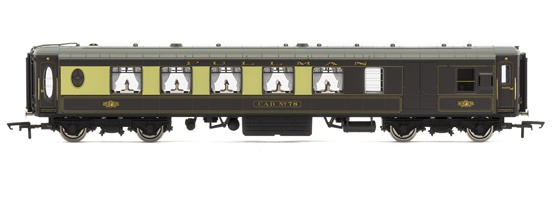 Hornby R4693 K-Type Pullman Coche de Freno de Tercera Clase ...