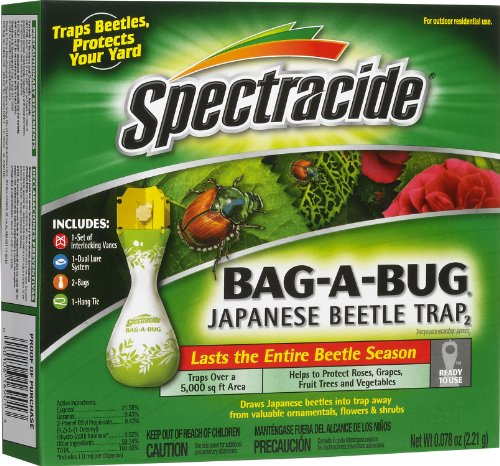 Spectracide Bag-A-Bug Japanese Beetle Trap2 (Japanese Beetle Bugs)