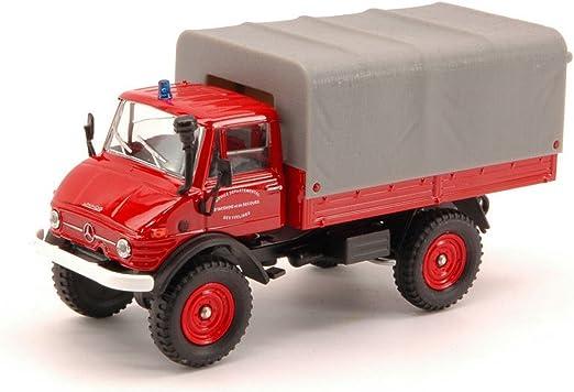 Solido Sl150143 Mercedes Unimog 416 Feux De Forets 1 43 Modellino Die Cast Model Kompatibel Mit Spielzeug