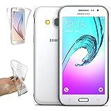 REY Protector de Pantalla para Samsung Galaxy J3 2016, Cristal ...