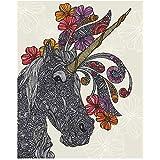 My Wonderful Walls Unicornucopia Fantasy Art Sticker by Valentina Harper (L)