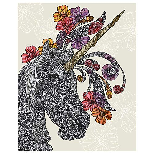 My Wonderful Walls Unicornucopia Fantasy Art Sticker by Valentina Harper (L)