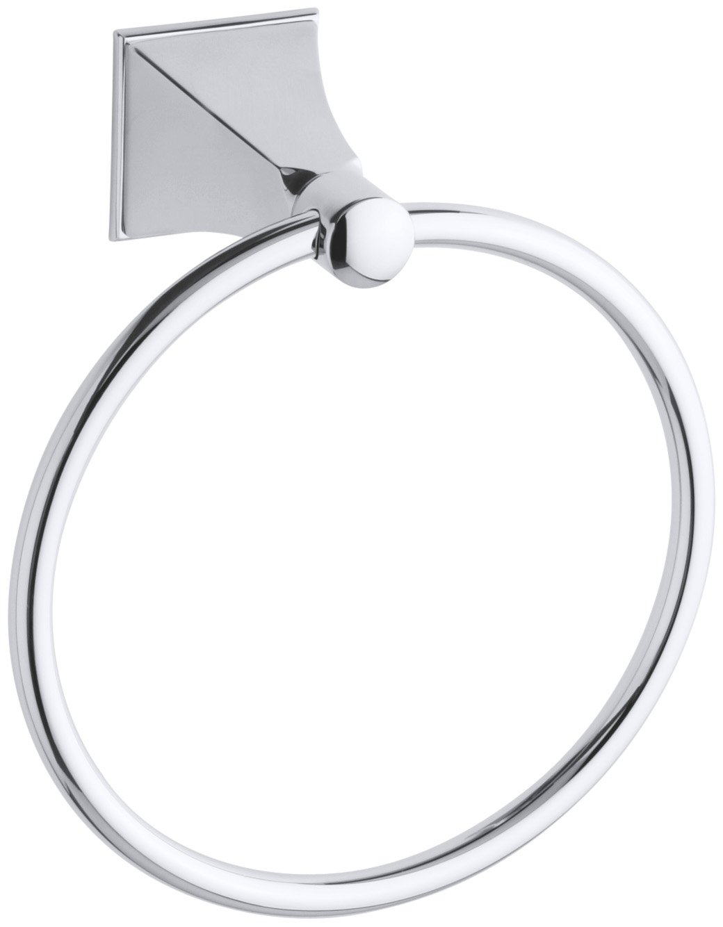 kohler k487cp memoirs towel ring with stately design polished chrome amazoncom - Kohler Memoirs