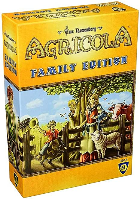 Mayfair Games Europe GmbH Agricola Family Edition - English: Amazon.es: Juguetes y juegos