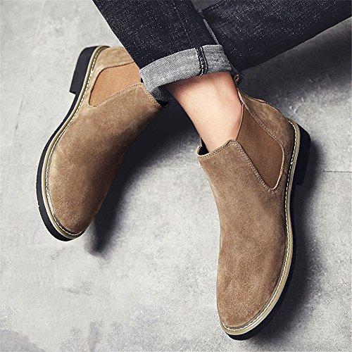 chelsea e di stivali martin 44 stivali sono gli stivali boots moda gli velvet cachi uomini REPACqwY