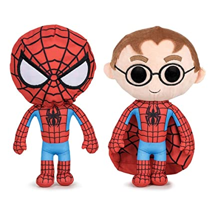 Play by Play Peluche Spiderman, 27 cm con Capucha. Marvel ...