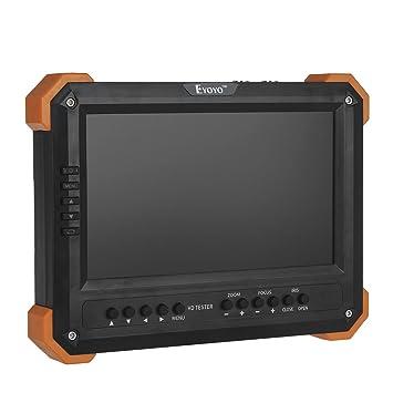 Eyoyo 7 pulgadas probador portátil cámara de vigilancia comprobador de Monitor comprobador CCTV multifuncional 5 en
