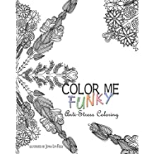 Color Me Funky - Anti-Stress Coloring