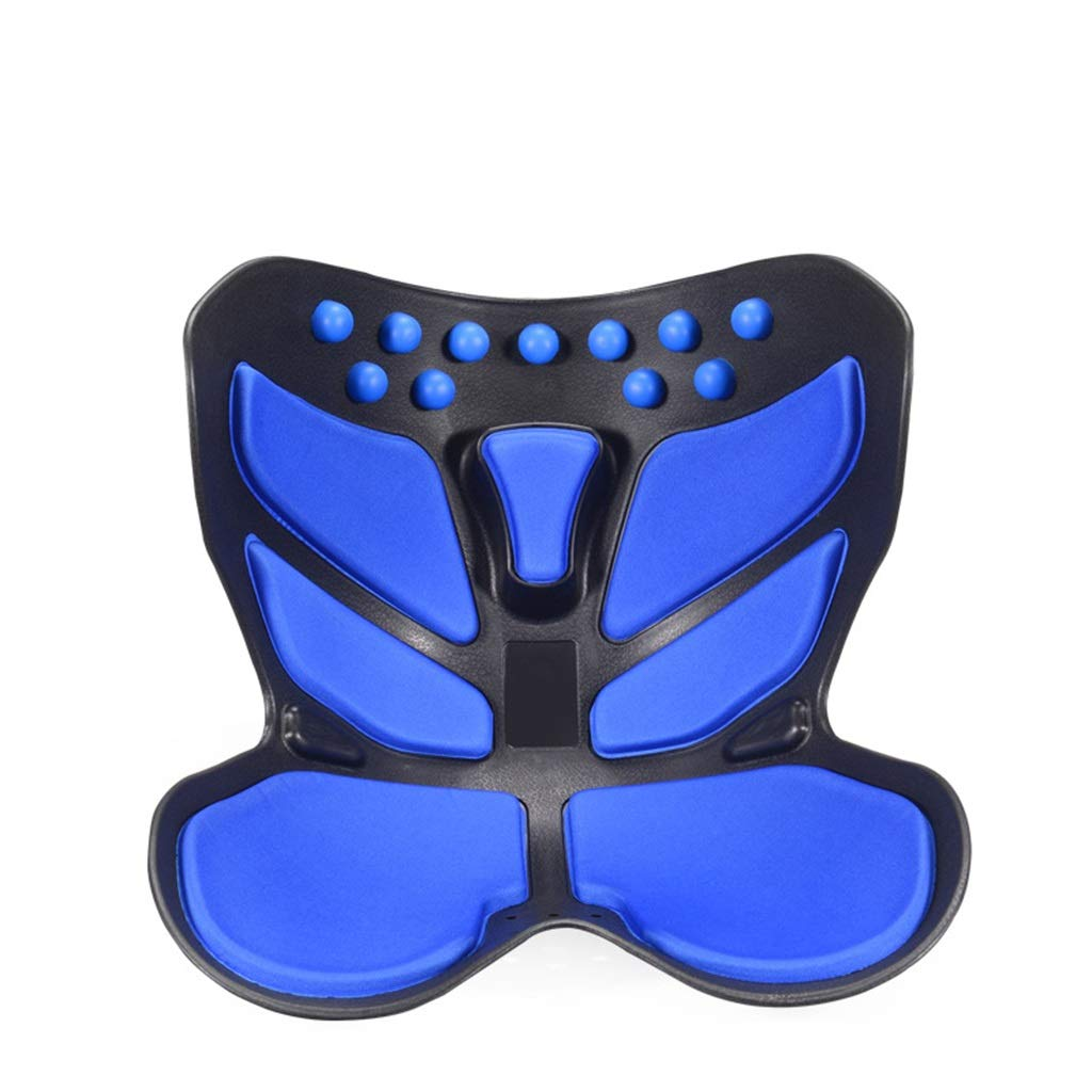 Cushion, Waist Protector, Hip Cushion, Orthosis, Sitting Posture, Pregnant Woman, Artifact, Decompression Office (color : Blue)