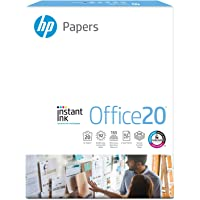HP Printer Paper, Office20 Paper, 8.5 x 11 Paper, Letter Size, 92 Bright - 1 Ream / 500 Sheets (112150R) 8.5x11 1 Ream