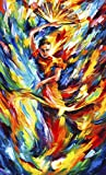 Flamenco is a Limited Edition print from the Edition of 400. The artwork is a hand-embellished, signed and numbered Giclee on Unstretched Canvas by Leonid Afremov. Embellishment on each of these pieces will be slightly different, but the image itself...