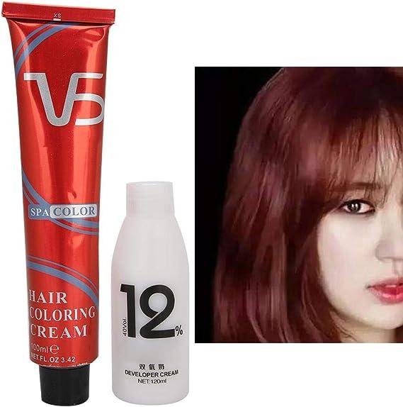 Tinte para el cabello, Crema para teñir el cabello, Extracto de ...