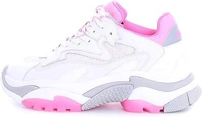 ASH Addict White Fuchsia Sneaker Woman