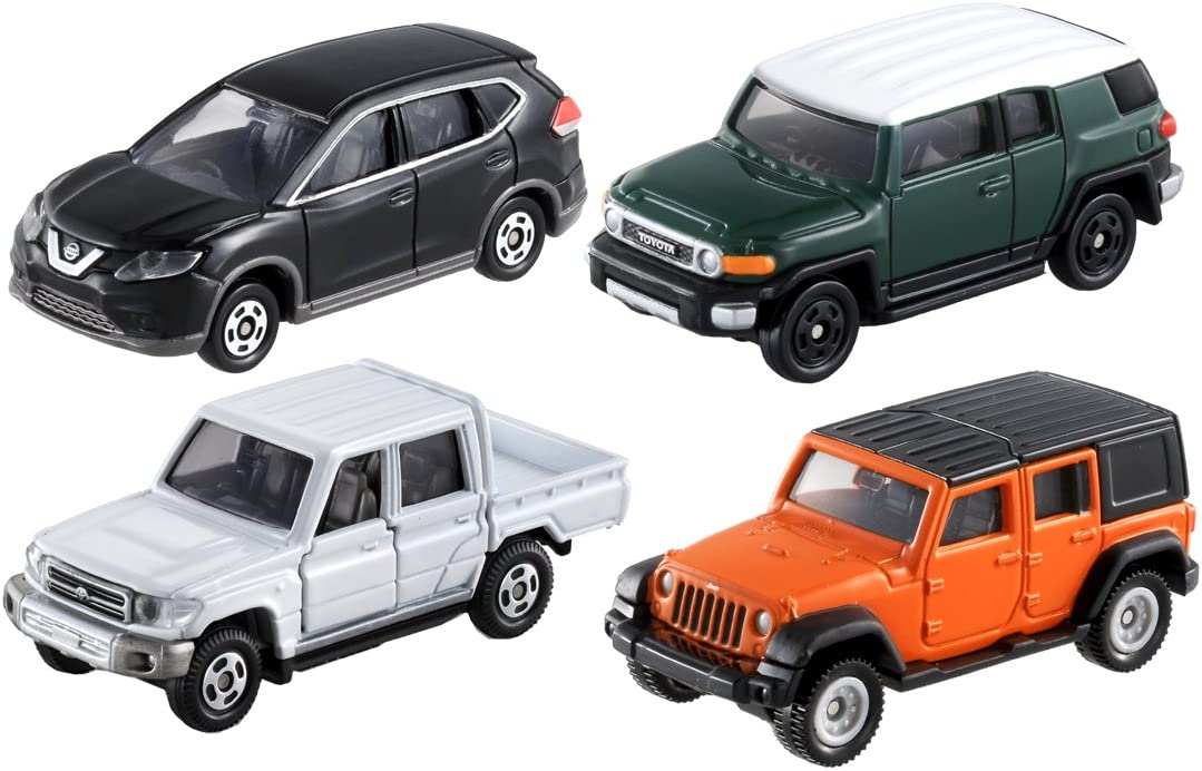 Tomica Gift Drive to the Mountain Off Road Car Set New Japan
