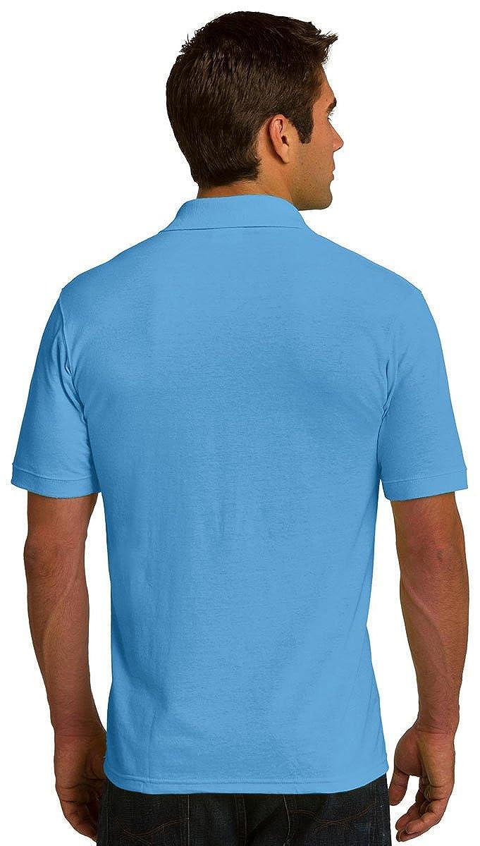 Port /& Company Mens Durable Perfect Pique Polo Shirt/_Sand/_XXXX-Large