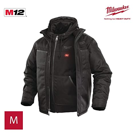Milwaukee 4933451622 - M12hj3in1-0(m) chaqueta calefactable 3 en 1 ver-