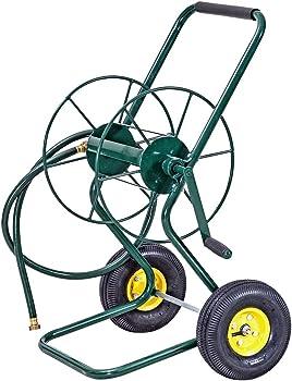 Goplus Hose Reel Cart with 2 Wheels