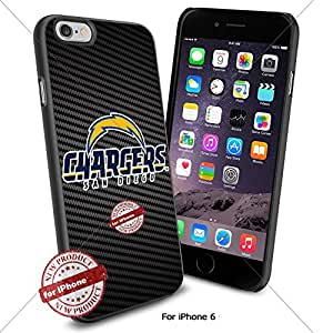 San Diego Chargers ,Cool Iphone 6 Smartphone Case Cover Collector iphone TPU Rubber Case Black color [ Original by WorldPhoneCase Oly ]