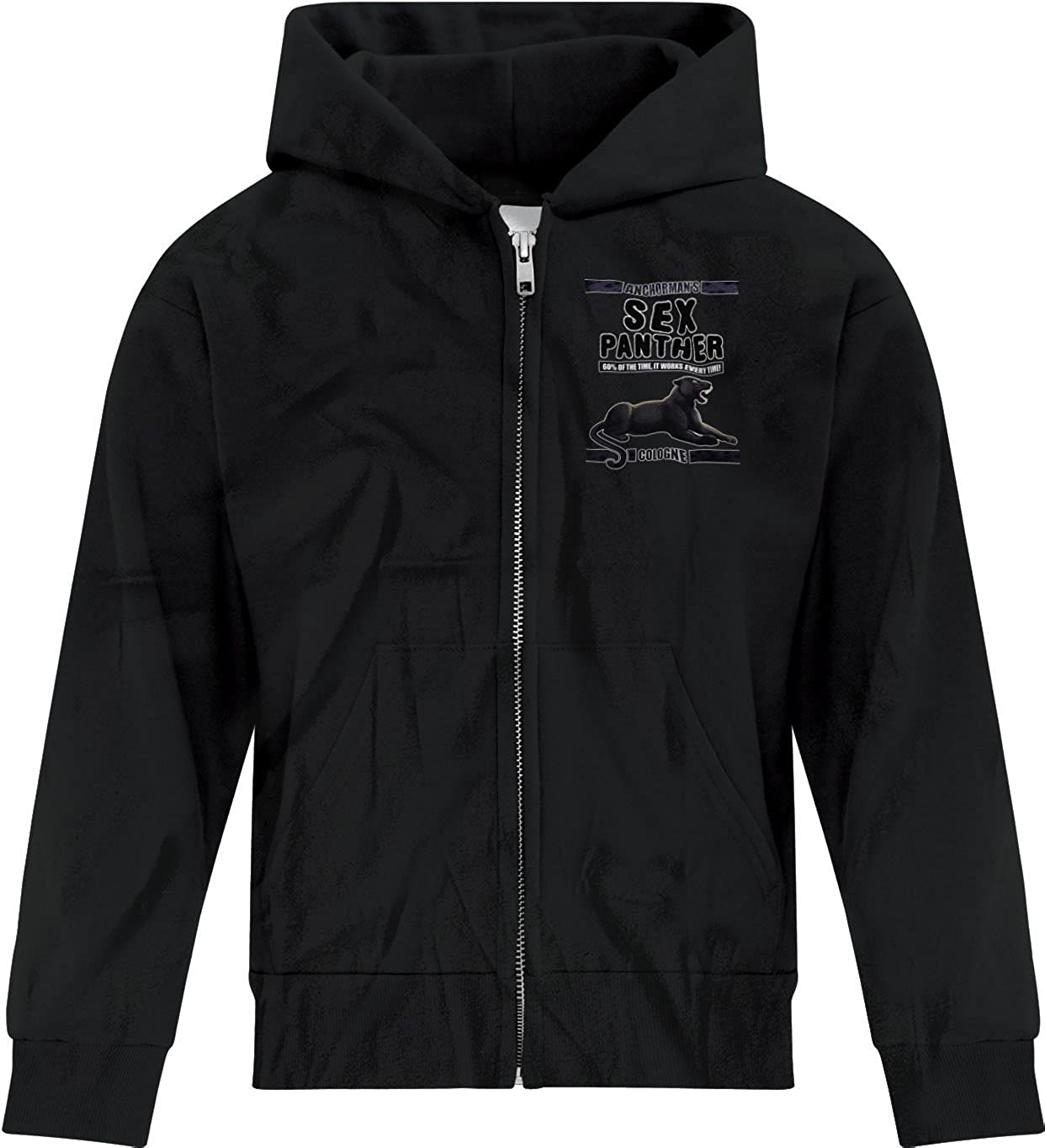 BSW Youth Boys Panther Cologne Anchorman Zip Hoodie