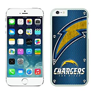 Personalized Design Phone Case For Iphone 6 San Diego Chargers iPhone 6 4.7 Inches Cases 04 White TPU Protective Phone Case