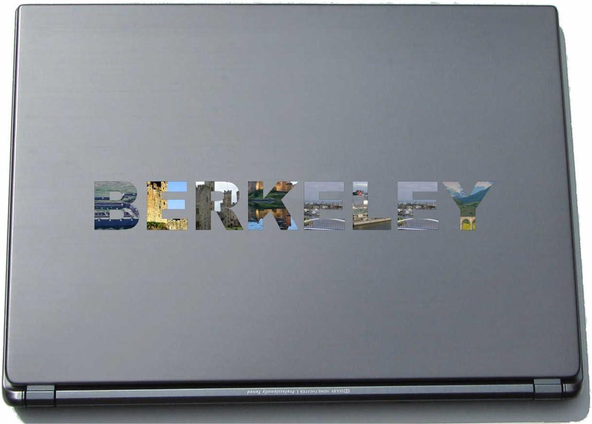 Berkeley Laptop Sticker Laptop Skin 290 mm with sights