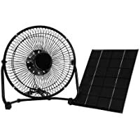 Panel Solar Ventilador,Powered Fan 5.2W 6V Portátil Mini