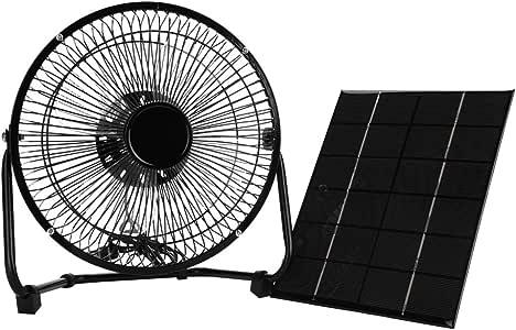 Mini Ventilador de enfriamiento, Ventilador de Panel Solar USB 5.2 ...
