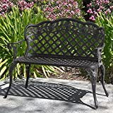 Best Choice Products Cast Aluminum Bench for Patio, Yard, Outdoor, Garden – Bronze Review