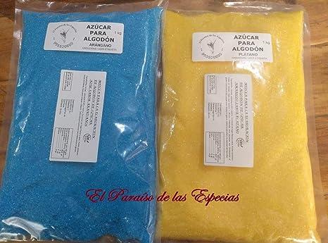 Pack dos Sabores para Máquina de Algodón de Azúcar Celeste ...