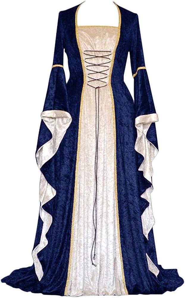 Gran Tamaño Vestido Victoriano Mujer Dress Largo Victoria Vintage ...