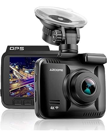 """Dashcam Avant Arri/ère AZDOME GPS FHD 1080P WDR Cam/éra Embarqu/ée Voiture 2.4/""""LCD Double Objectif R/églable Enregistrement en Boucle D/étection Mouvement Monitor Stationnement"""