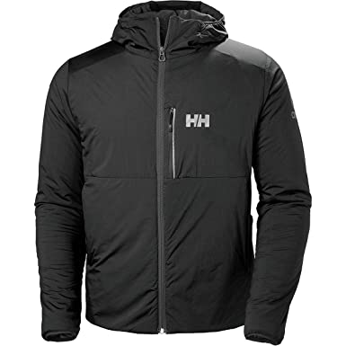 Helly Hansen Mens Odin Stretch Insulated Outdoor Hiking Jacket, Black, Small