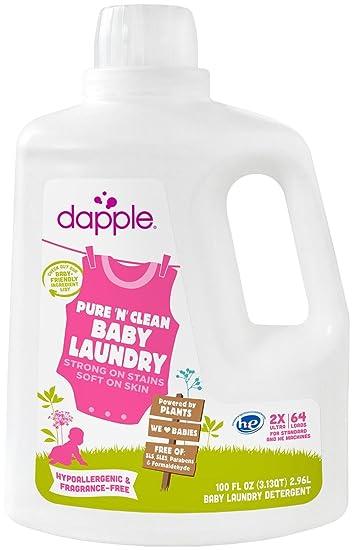 Amazon Com Dapple Baby Laundry Detergent Fragrance Free 100 Ounce