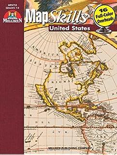 map skills united states grades 7 8 9