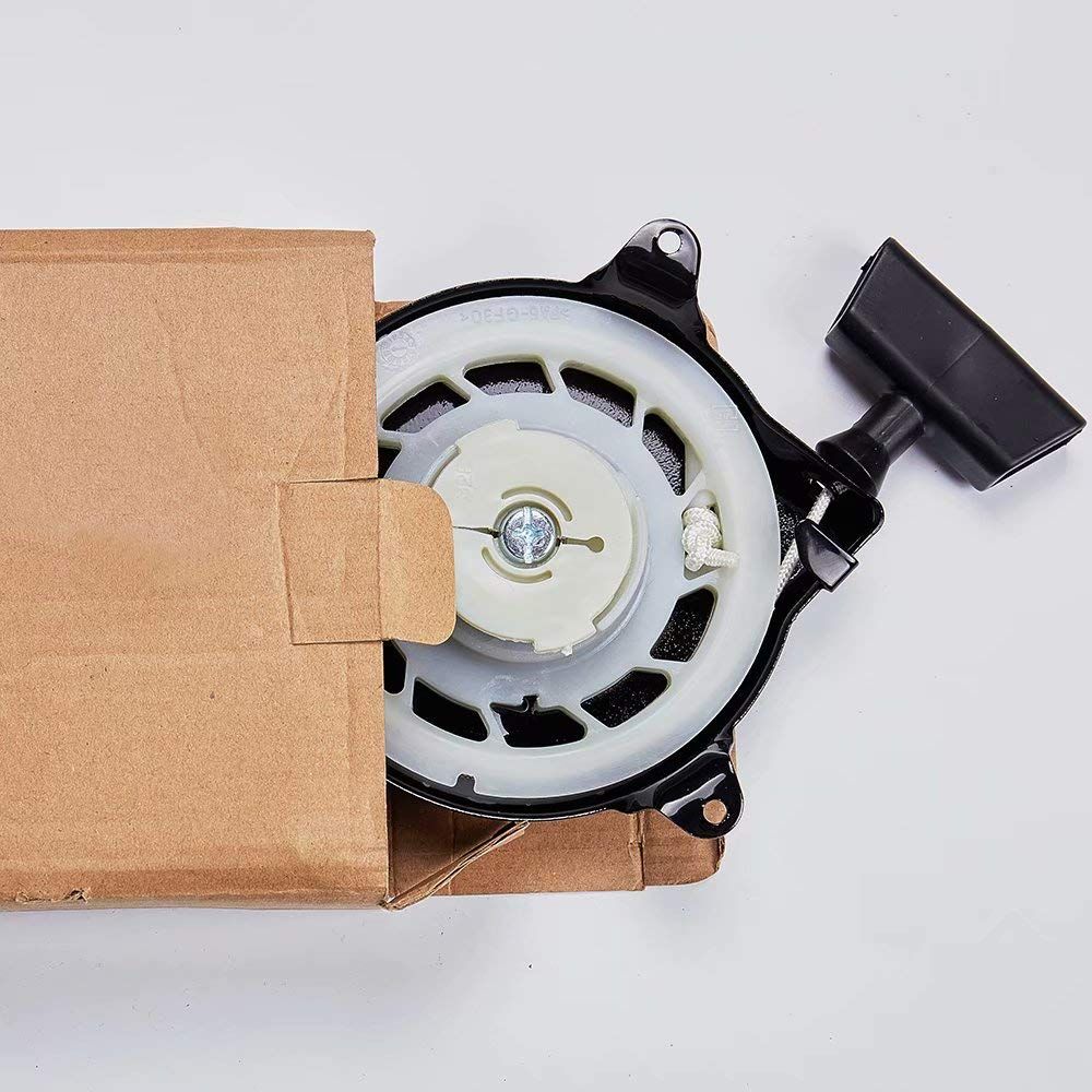 Montage f/ür B/&S 091212 091232 091412 09321 Rasenmover Generator CrystalB Zugschnur-R/ückzugseil f/ür Briggs /& Stratton 499706 690101 R/ückzugstarter