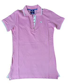 Champion m-Polo Mujer au istitutionals Light Pique FUP (Rosa ...