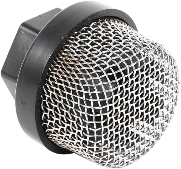 Qinhum Filtro di Aspirazione Ingresso 1Pc Tubo di Aspirazione Filtro in Rete di Acciaio Inossidabile per Spruzzatore Ultra Airless 390 395 495