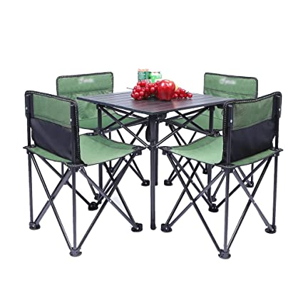 Mesas de picnic Mesa Plegable Soporte De Tubo De Acero Para ...
