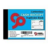Cherry Carbonless Cash Receipt Book, 2-Part, with