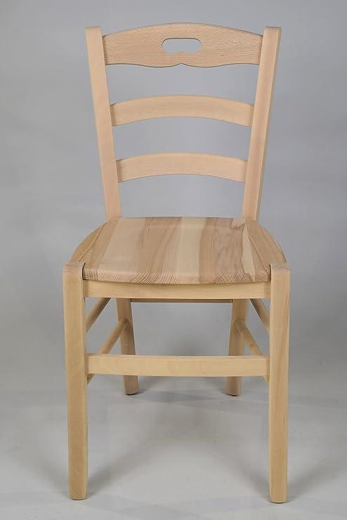 Tommychairs - Set 2 sedie classiche CUORE 38 per cucina, bar e sala ...