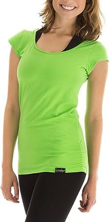 WINSHAPE Damen 3//4-arm Shirt in Wickeloptik Fitness Yoga Pilates Freizeit L night blue