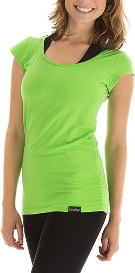 t-shirt femme vert pomme