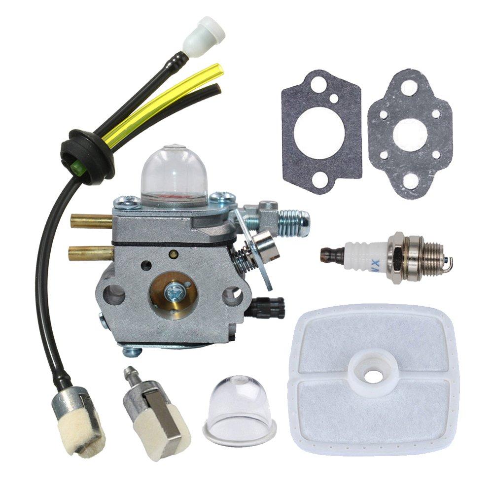 HUZTL Carburetor C1U-K29 C1U-K47 C1U-K52 with Repower Maintenance Kit for Echo GT200EZR GT2000R PAS2000 PAS2100 PE-2000 PP1200 PP800 PPF2100 PPF2110 PPSR2122 PPT2100 Power Pruner Trimmer