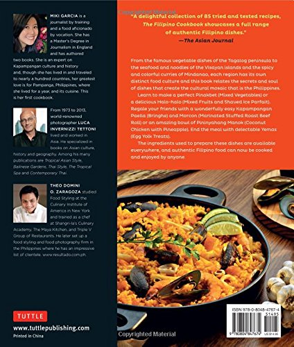 The filipino cookbook 85 homestyle recipes to delight your family the filipino cookbook 85 homestyle recipes to delight your family and friends miki garcia luca invernizzi tettoni 9780804847674 amazon books forumfinder Gallery
