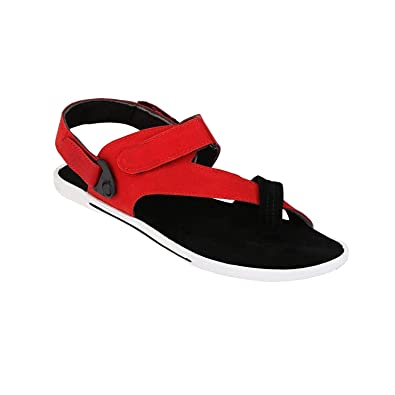 b42486dc0 Corstyle Cross-Strap Casual Synthetic Leather Sandals for Men: Buy Online  at Low Prices in India - Amazon.in