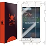 "Skinomi® TechSkin - Apple iPhone 6 Plus Screen Protector 5.5"" + Full Body Skin Protector with Free Lifetime Replacement Warranty / Front & Back Premium HD Clear Film / Ultra High Definition Invisible and Anti-Bubble Crystal Shield - Retail Packaging"