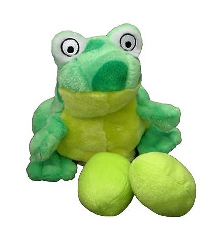 Outward Hound Kyjen PP02241 Egg Babies Frog Plush Dog Toys Squeak Toy Dog  Puzzle, Large