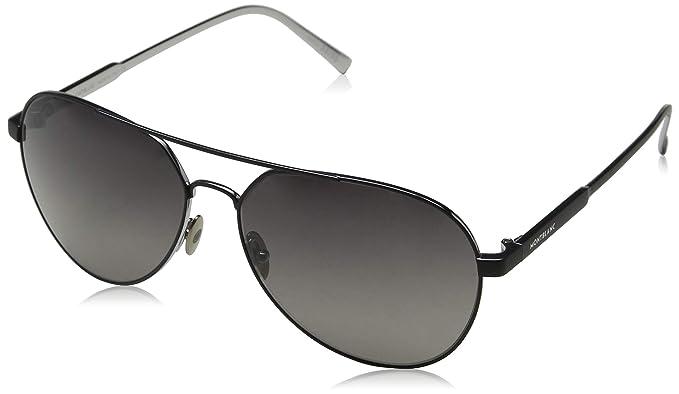 Amazon.com: Montblanc MB644S 02B Aviator - Gafas de sol ...