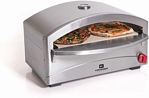Kemper Italian Style Artizan Horno de pizza a gas: Amazon.es: Jardín